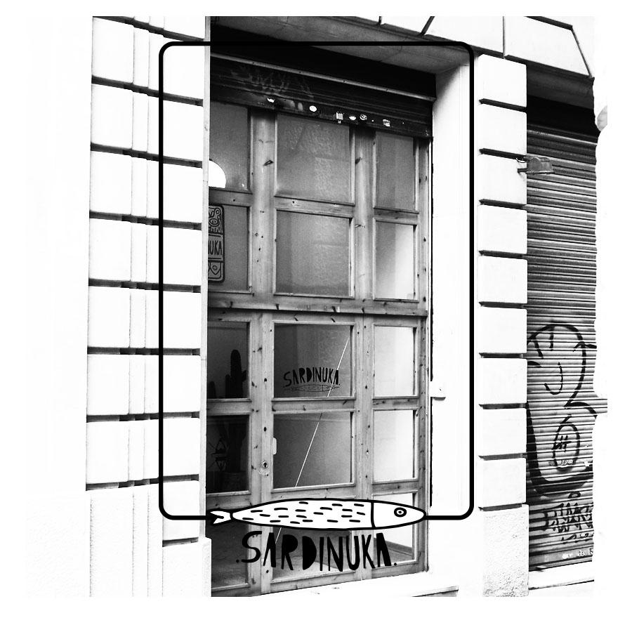 sardinuka galeria en el barrio de gracia barcelona diariodesign
