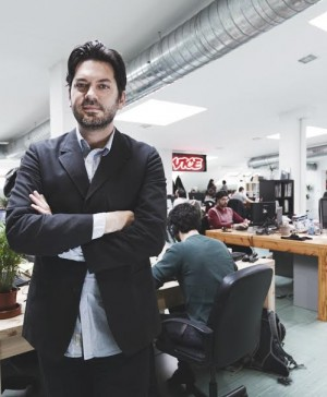 Andres Reymondes en Vice news Barcelona diariodesign