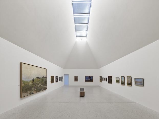 Art Museum Ahrenshoop, Germany; by Licht Kunst Licht AG ©Stefan Müller
