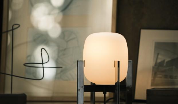 lampara de sobremesa cesta de mila para santa cole diariodesign