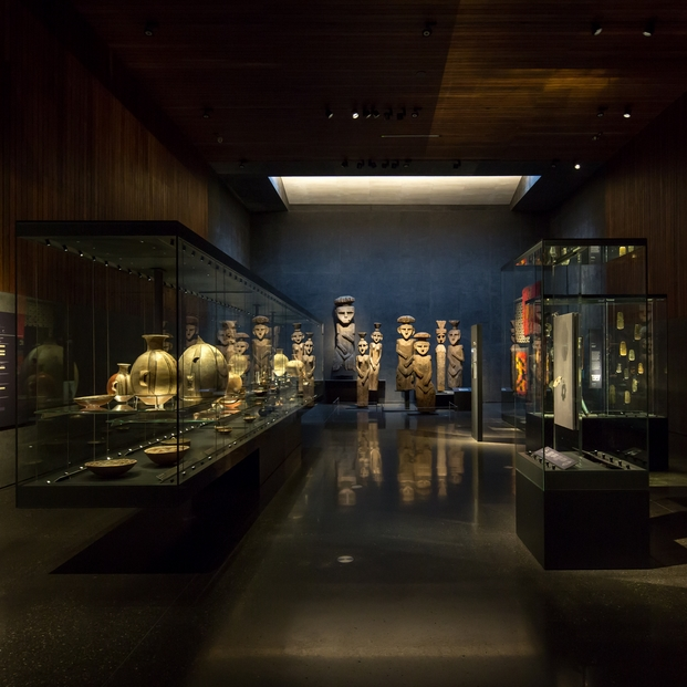 Chilean Museum of Pre-Columbian Art, Chile; by Limarí Lighting Design ©Aryeh Kornfeld