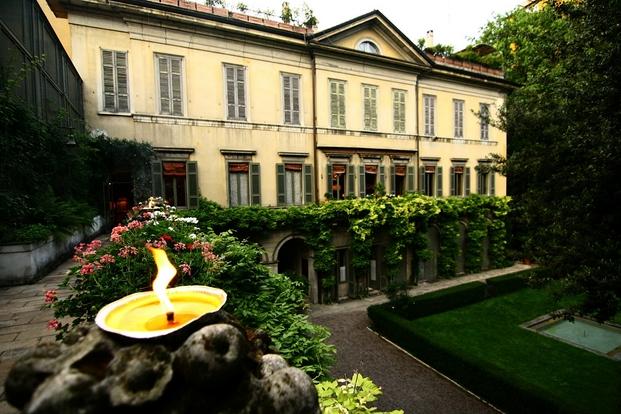 Giardino e terrazza Palazzo Crespi