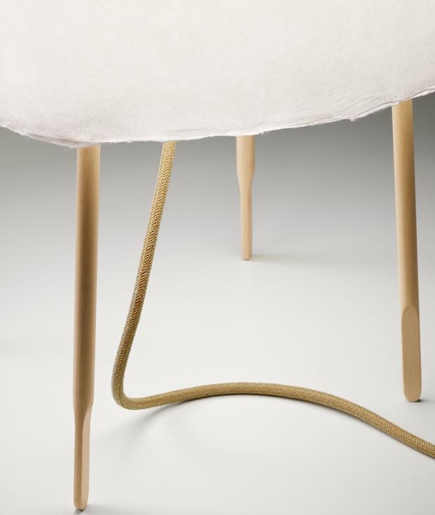 lampara de sobremesa Kuraghe Foscarini detalle diariodesign