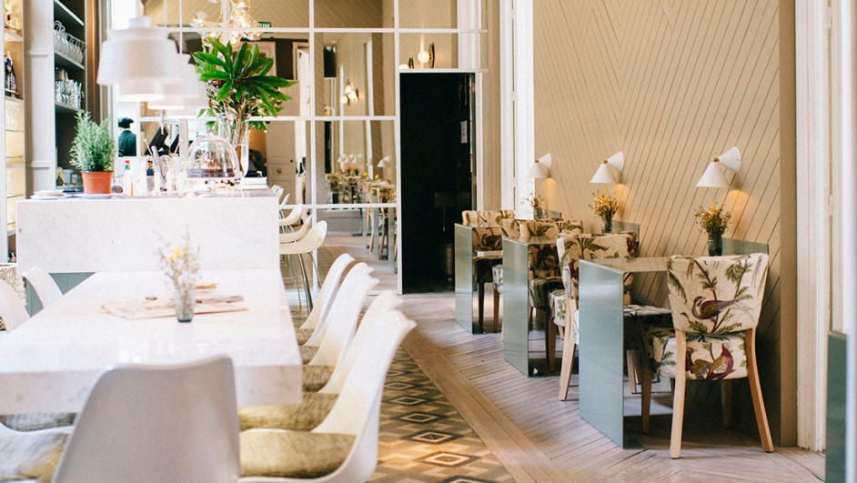 El Imparcial restaurante Madrid in love en diariodesign