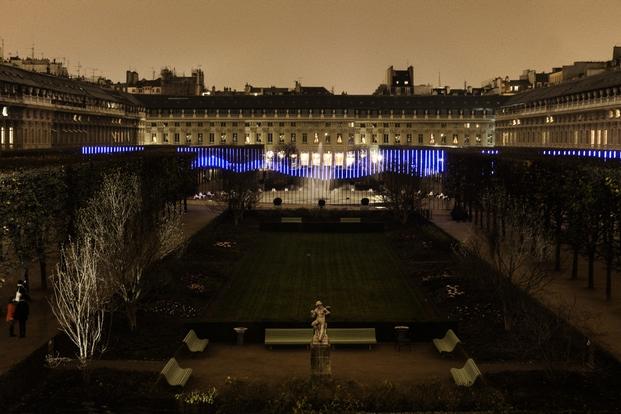 inauguration Jardin de Lumière
