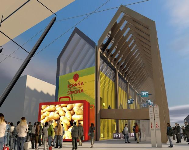 Pabellon de España Expo MiIano 2015 apertura