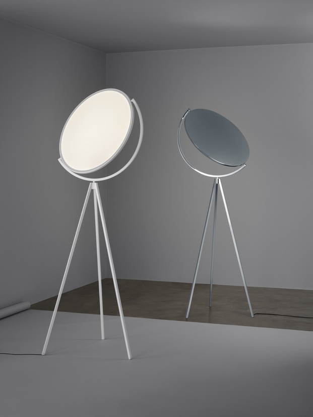 lampara de pie SUPERLOON Jasper Morrison para flos diariodesign