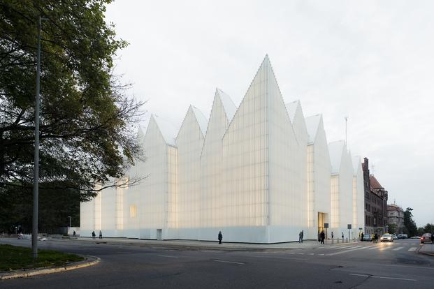 Szczecin Philharmonic, Poland; by Barozzi Veiga Studio ©Simon Menges