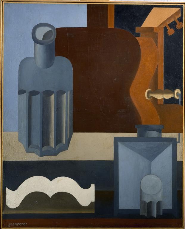 Le Corbusier, Guitare verticale (1ère version), 1920. © FLC, ADAGP, Paris 2015
