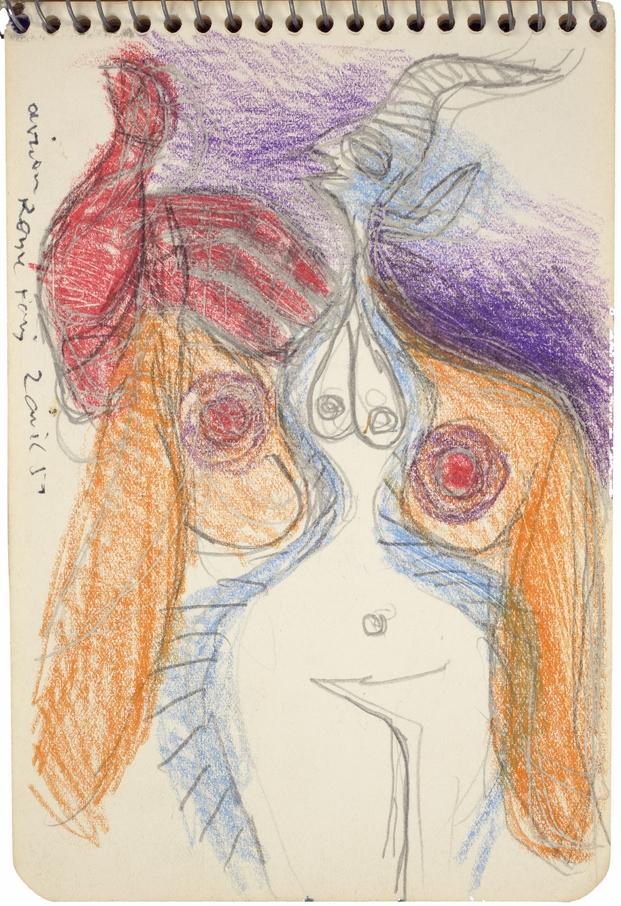 Le Corbusier, Carnet E19, p.7 , 2 Avril 1952. © FLC, ADAGP, Paris 2015