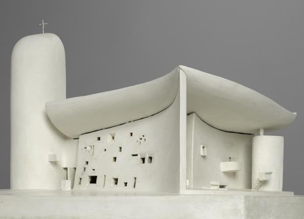 Le Corbusier, Chapelle Notre-Dame-du-Haut, Ronchamp, 1955. © Centre Pompidou / Dist. RMN-GP / B. Prévost © ADAGP, Paris 2015