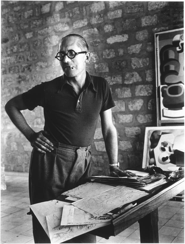 Rogi André, Le Corbusier, CA. 1937 © Centre Pompidou, G. Meguerditchian