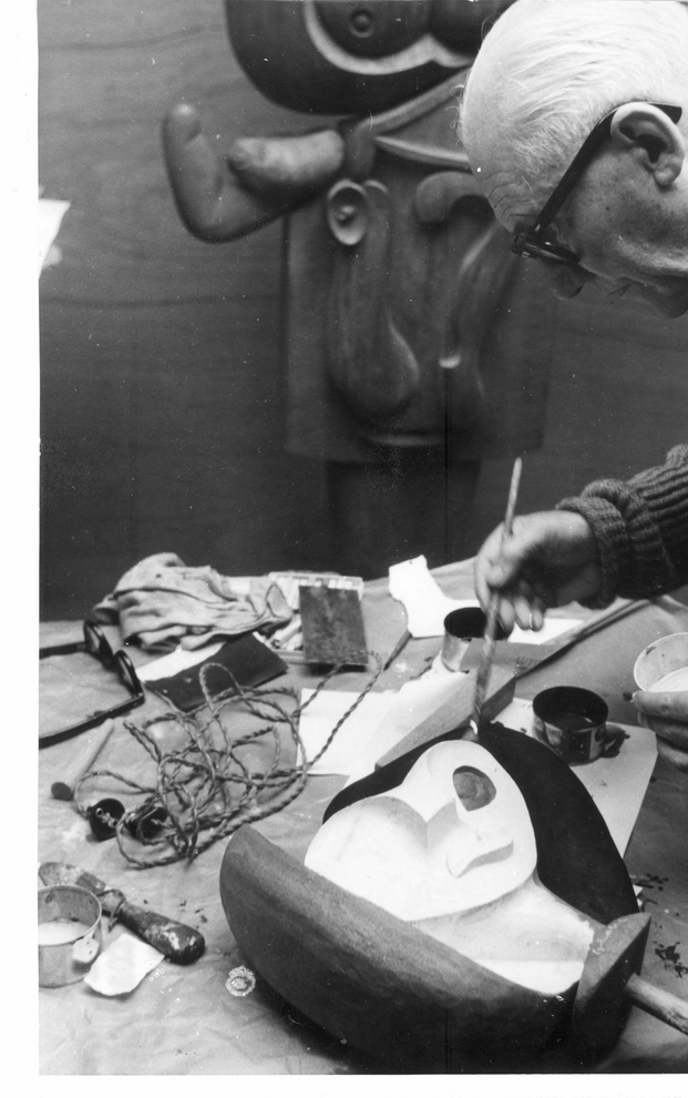 Joseph Savina: Le Corbusier au travail. © FLC, ADAGP, Paris 2015