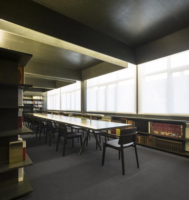 Biblioteca São Paulo site Specific fad arquitectura 2015