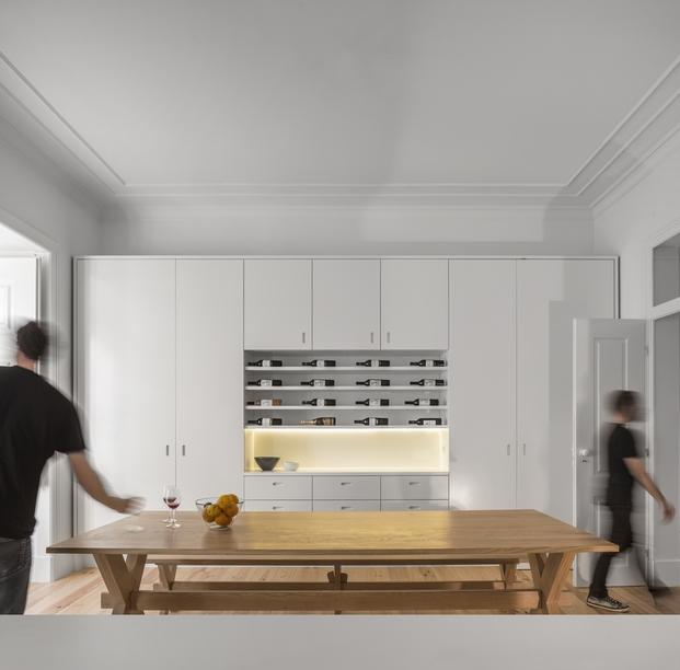 Apartamento en Lisboa finalista Premio Fad de arquitectura 2015 por Aspa