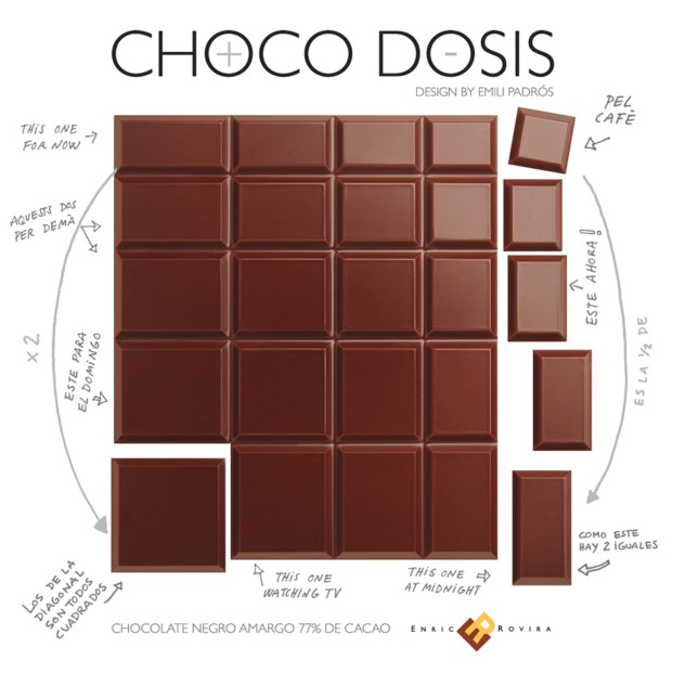 Chocodosis de Emiliana Design Studio