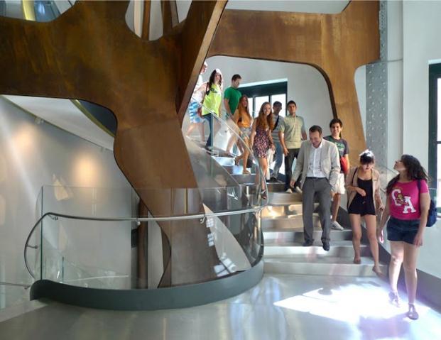 FUNDACION TELEFÓNICA visitar durante el Open House Madrid