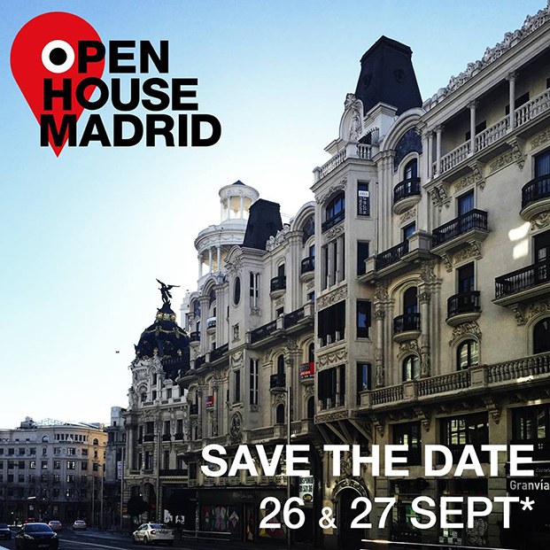 Cartel Open House madrid