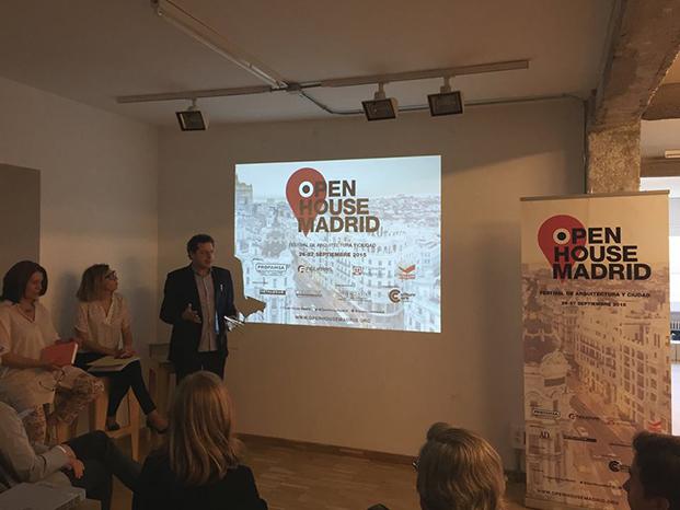 presentacion del Open House Madrid