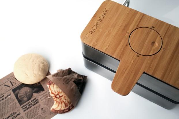 Oxymoron Maker (sandwichera para helados), de Andreu Carulla para Rocambolesc de los Hermanos Roca