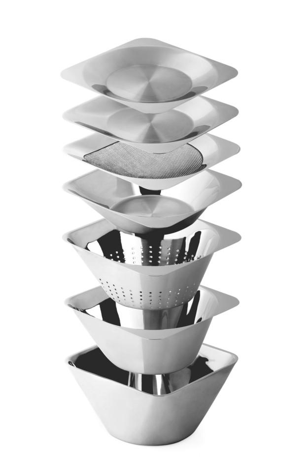 Sistema de boles 7 Bowls, diseño de Martín Azúa y Gerard Moliné para Design Mix