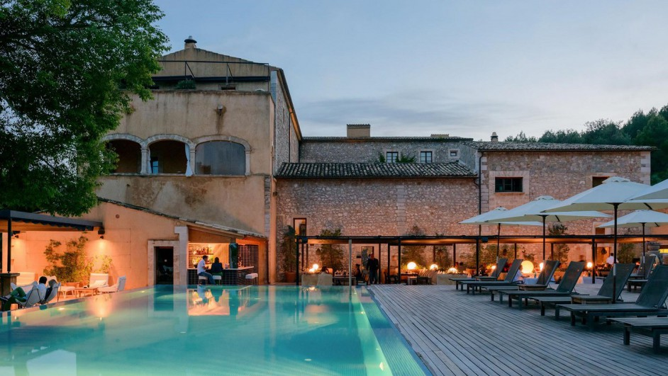 arquitectura mediterranea en hotel mallorca diariodesign