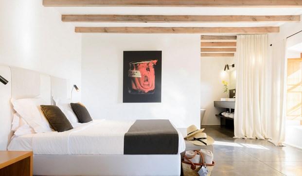 arquitectura mediaterránea en un hotel en Son Brull en mallorca de Forteza Aparicio Interiores diariodesign