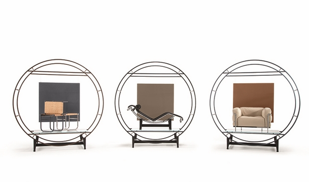 CASSINA_LC2_Le Corbusier_Jeanneret_Perriand_Vitruvian_group_2