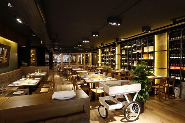 restaurante en barcelona Foxos de Lluria de Carlos Martínez Interiors