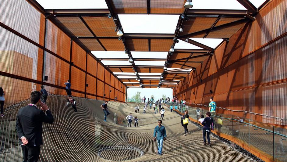 Nuestra primera gu a arquitect nica para la expo milano for Pabellones arquitectura efimera