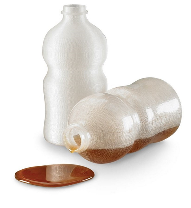 Prototipo 3D Botella traslucida absi FDM