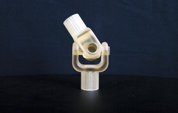 Engranaje impreso en 3D con tecnología Object.