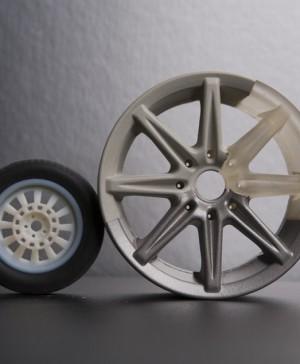 Prototipo 3d, impreso 1 pieza, 2 materiales polyjet_