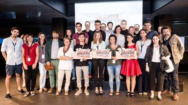 Ganadores en la sesión de Barcelona
