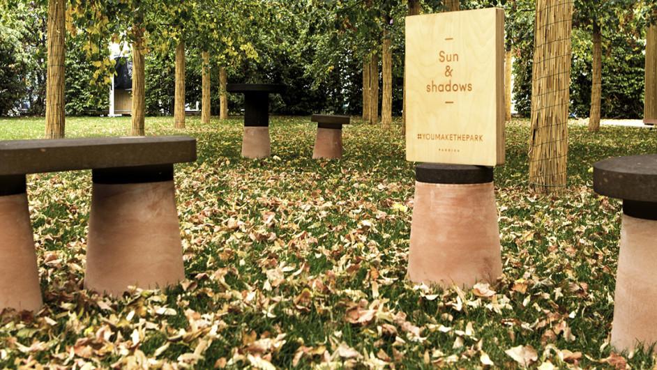 mobiliario urbano personalizable You make the Park Fabrica expo milano