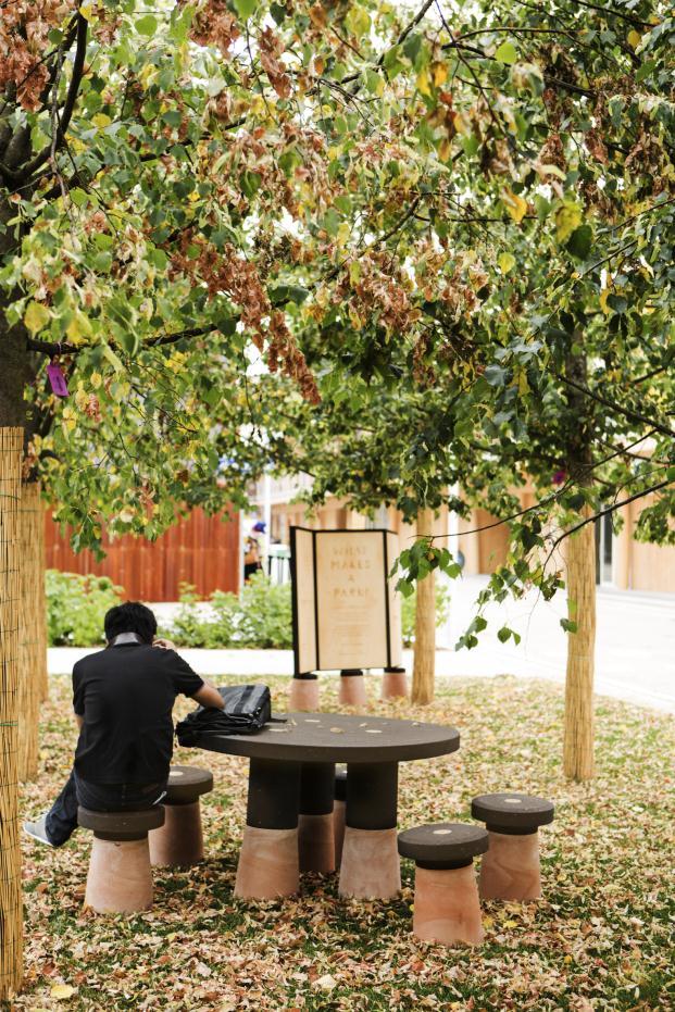 You make the Park Fabrica expo milano mobiliario urbano personalizable en diariodesign