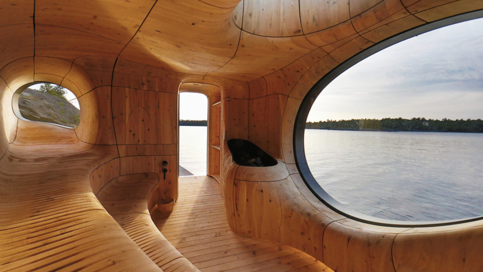 1 sauna grotto