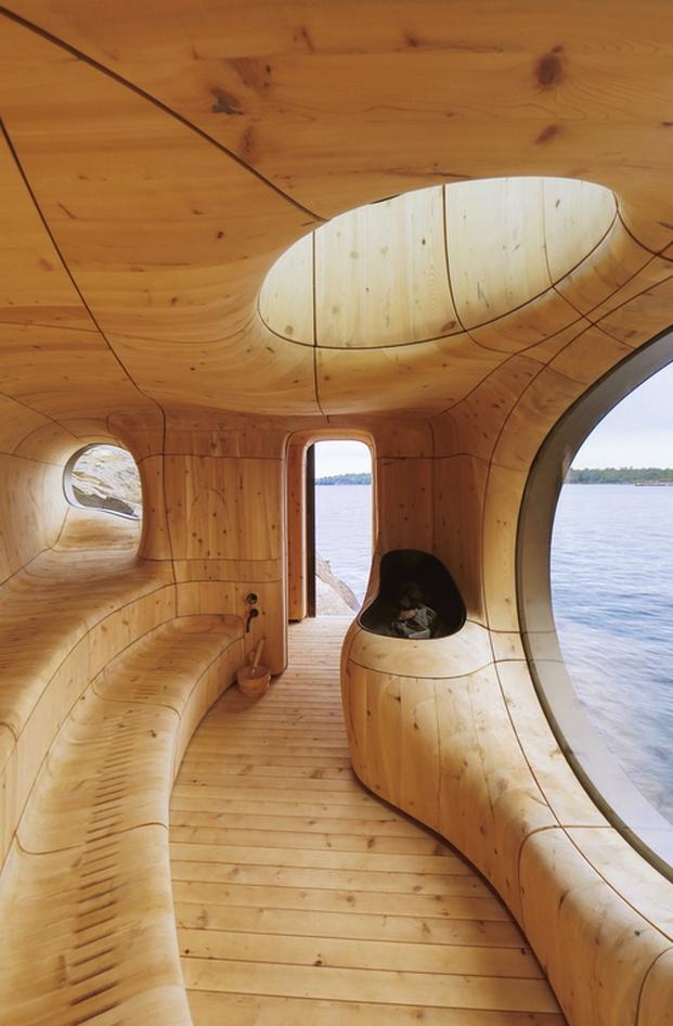 10 sauna grotto