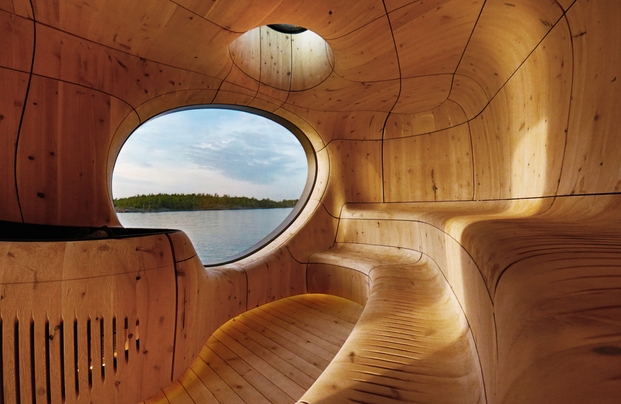 2 sauna grotto