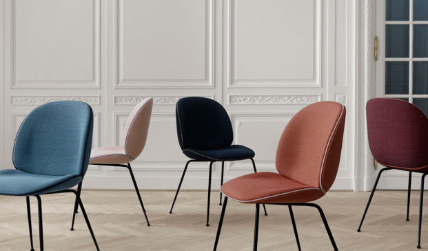 Beetle chair de GamFratesi