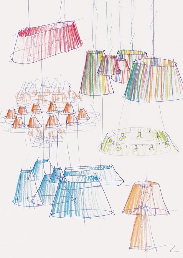 Curro Claret sketches