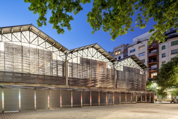 Mercat del Ninot Mateo Arquitectura