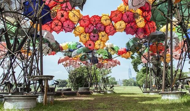 Organic Growth Pavilion de Izaskun Chinchilla diariodesign