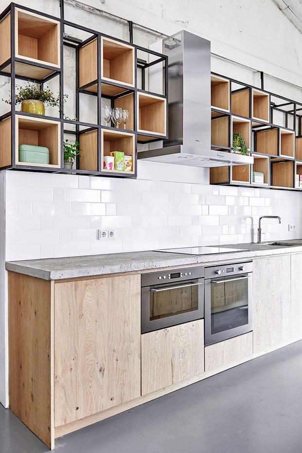 cocina de oficinas de Fairphone en amsterdam diariodesign