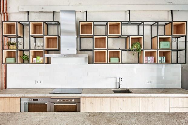 oficinas de Fairphone en amsterdam cocina diariodesign