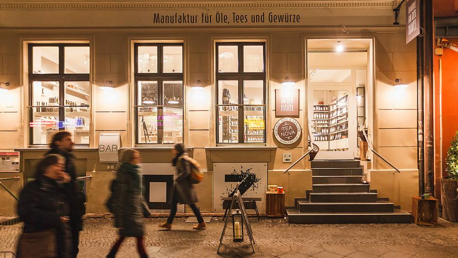 Luz digital en Ölmühle an der Havel de erco iluminacion diariodesign