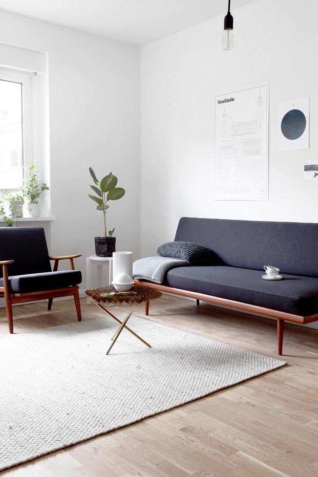 color balnco en un apartamento en san petersburgo diariodesign