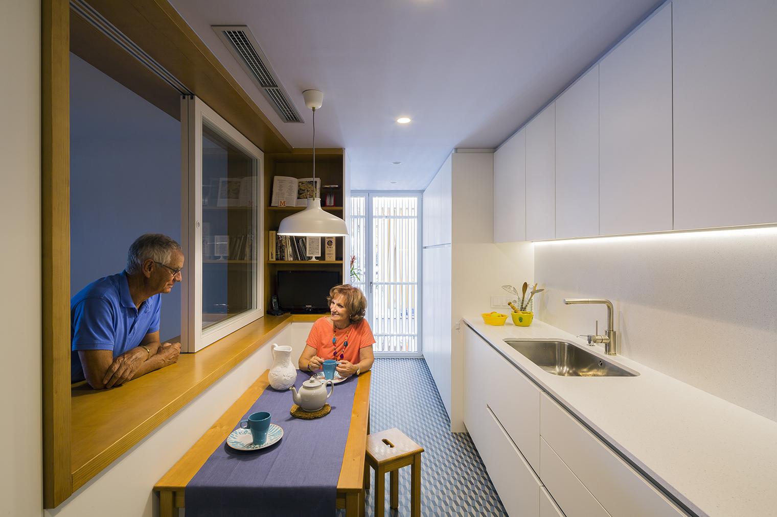 Master window de nook architects 30 a os en la misma casa for Master interiorismo barcelona