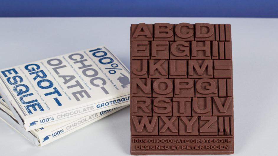 1 chocolate grotesque