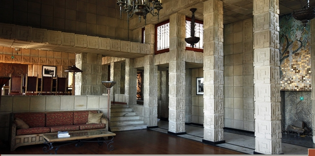 ennis house de frank lloyd wright arquitectura de cine blade runner diariodesign